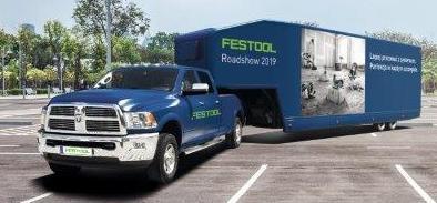 Podróż po Polsce samochodu pokazowego Festool