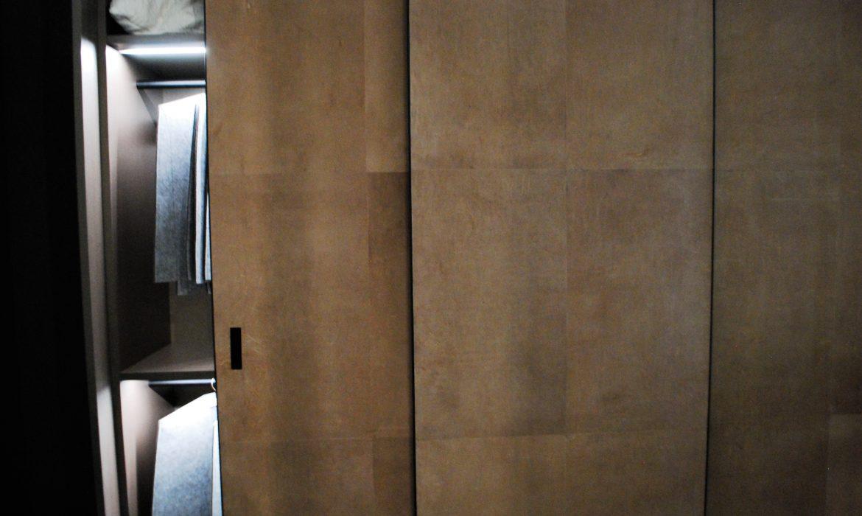 Luksusowe wykończenie drzwi przesuwnych