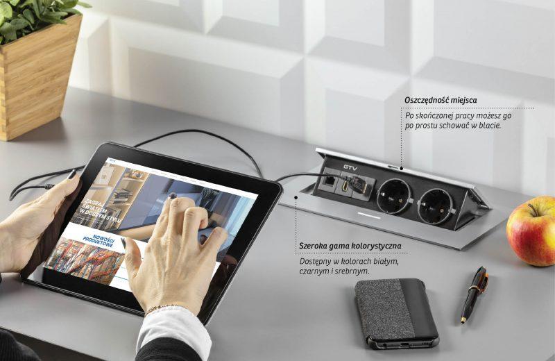 Komfort i ergonomia – przedłużacze wpuszczane