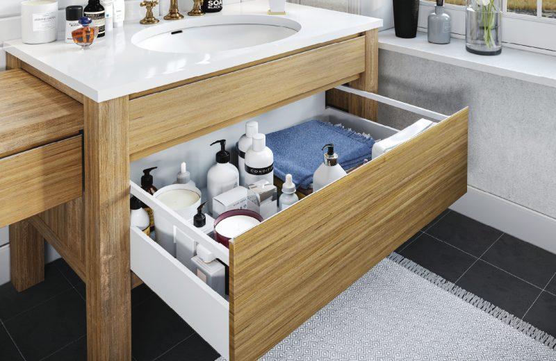 Mała, ale komfortowa łazienka