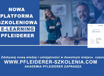 Ruszyła platforma e-learningowa Pfleiderer