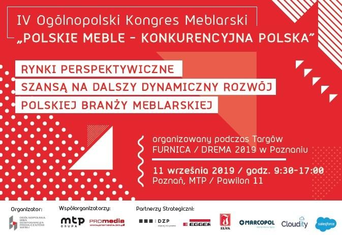 V Ogólnopolski Kongres Meblarski – kolejna edycja – ale zupełnie inna!