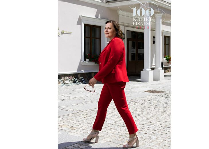 Pani Prezes Alina Szynaka na podium w Rankingu 100 Kobiet Polskiego Biznesu