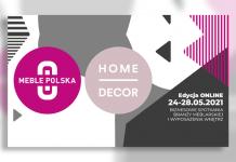 Targi MEBLE POLSKA i HOME DECOR w maju tylko ONLINE