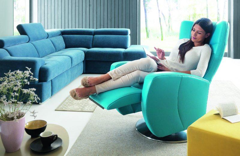 Fotel i szezlong dla mamy