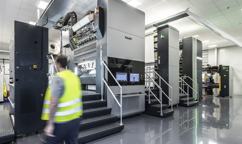 Interprint rozwija technologię druku cyfrowego, inwestując w trzecią maszynę