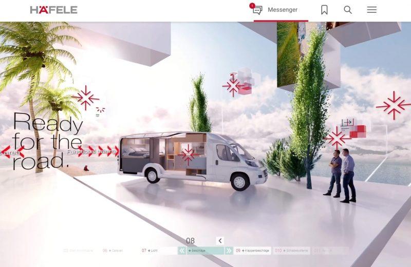Häfele otwiera salon wirtualny i rusza w trasę