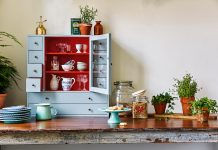 Oryginalna i praktyczna kuchnia, czyli farba zmienia wszystko