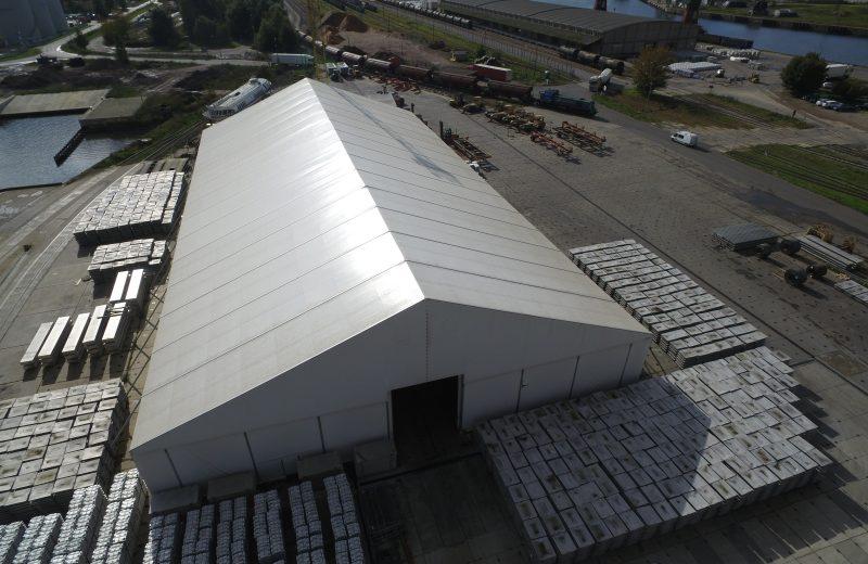 Wieloletnie hale namiotowe – alternatywa dla tradycyjnie budowanych hal magazynowych i przemysłowych.