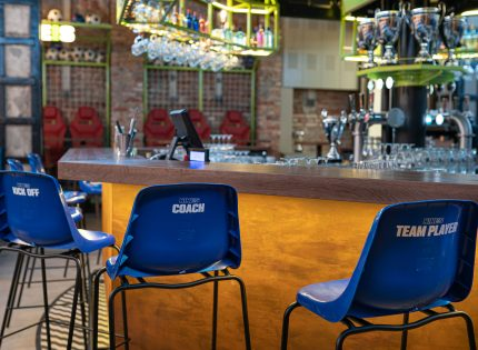 Unikalny koncept restauracji i sports baru